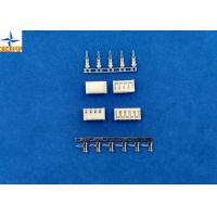 Quality Single Row 2.5mm PCB Board-in Connectors Brass Contacts Side Entry type Crimp Connectors for sale