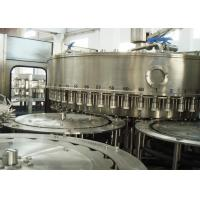 Quality Mineral RO Water Filling Machines , Bottling Rinsing Filling And Capping Machine for sale