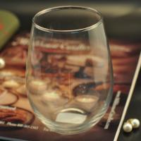 Quality Handmade Glass Tableware , engraved glass tumblers for whisky and red wine for sale