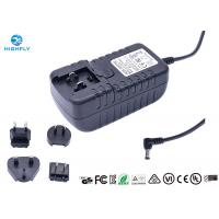 Buy UK US EU AU Interchangeable Plugs Power Adapter 12V 3A for LED Light at wholesale prices