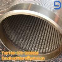 Quality Johnson Screen/Wrap Well Water Screen Pipes for sale