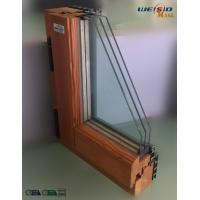 Quality High grade Three layers glass Aluminium Window Profiles in apartment building for sale