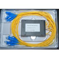 Quality 2x16 Fiber Optic PLC Splitter With ABS Box for sale