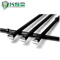 Quality High Strength Alloy Steel Integral Drill Rod For Small Hole Rock Drilling for sale