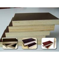 Quality 9mm 12mm 15mm 17mm 18mm one time hot press  film faced plywood used outside for sale