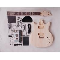 Quality 39 Inch 22 Fret Double Cutaway DIY Electric Guitar Kits With Maple Neck AG-DU3 for sale