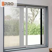Quality Waterproof Anodised Aluminium Sliding Windows With Single Tempered Glass for sale