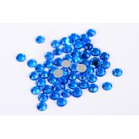 Quality Small Loose Octagon Heat Fix Rhinestones 1.5mm - 10mm With Even Facets for sale