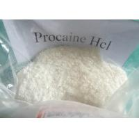 Quality Local Anesthetic Procaine Hydrochloride Crystalline Powder Procaine HCL for sale