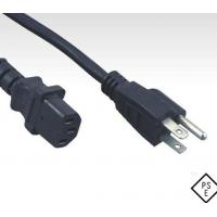 Quality PSE approved Japanese cord set, Japan plug to C13 power cord for sale