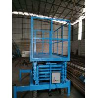 China Hydraulic Mobile Scissor Lift Platform With Over Loading Security Protection System on sale