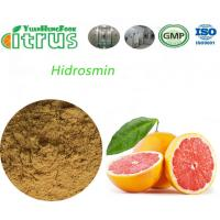 Quality Food Citrus Aurantium Fruit Extract Hidrosmin Yellow Powder High Activity for sale