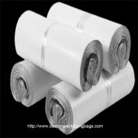 Quality White Poly Mailing Bags PE Plastic Material Moisture Proof Durable For Clothes for sale