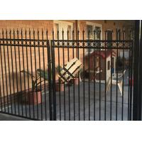 Quality Powder Coated Automatic Driveway Gates Rot Proof For Home / Countyard for sale