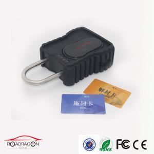 Quality GPS Locker GSM SIM Tracker GPS Padlock 3G Logistic Lock Alerts Security for sale