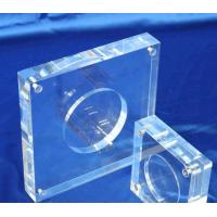 Quality Acrylic Coin Capsule Display Commemorative Coin Holder Customized for sale