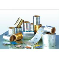 Quality Al-pet Aluminium Foil Roll  With Polyester Mylar Film Laminated For Coxial Cable for sale