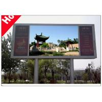 Quality HD Advertising Full Color LED Display with Rolling Message 960 x 960mm Cabinet for sale