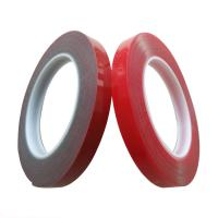 Quality 90°C Heat Resistant VHB Acrylic Foam Tape Moisture Proof Clear / Red Color for sale