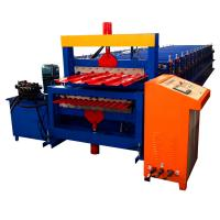 Buy cheap Double Layer Color Coated Roofing Sheet Steel Profile Roll Forming Machine from wholesalers