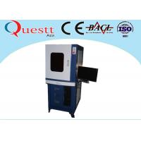 Quality 110x110mm Sealed Box portable laser marking machine for metal , AC220V 50/60Hz for sale