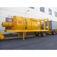 Buy 30000L Bitumen Tank Mobile Asphalt Mixing Plant With Double Shaft Vane Forced Mixer at wholesale prices