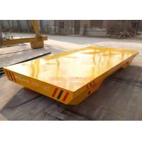 Quality 10t Non-power towed transfer car for wooden box handling apply for sale
