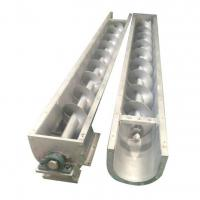 China Customized  Standard/  Vertical  / Inclined / leveling  screw conveyors For Conveying Hay on sale