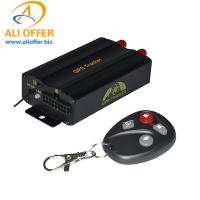 Quality Remote Engine Off Car Vehicle GPS Tracker 103B 3G Fuel ACC Door SOS Alarm,Dual Sim Mobile Phone Wifi Tracking Anti-theft for sale