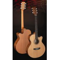 Quality Superior Full Size Cedar Solidwood Western Guitar / Wood Acoustic Guitar TP-AG28C for sale