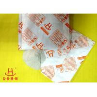 Quality Powerful Food Grade Desiccant Packets Calcium Chloride Material , No Leakage for sale