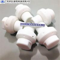 Quality Anti- corrosion 1/2 BSPP 360 spray PTFE rotary tank cleaning nozzle for Enamel reactor for sale