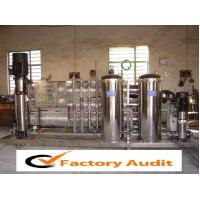 Quality Stainless Steel Reverse Osmosis Water Purifying System with 4040 Membrane Model for sale
