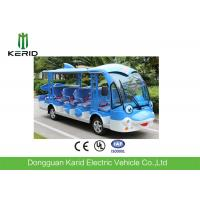 Quality 72V 5KW DC System 14 Passengers Cheap Electric Sightseeing Bus Cartoon Design Electric Car for sale