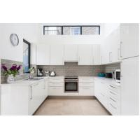 Quality High Quality Australia Modern White Kitchen Pantry Cupboards Kitchen Cabinets for sale