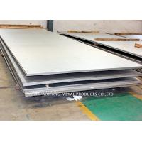Quality 300 Series Hot Rolled Stainless Steel Sheet 321 No.4 Finish SGS Certificated for sale