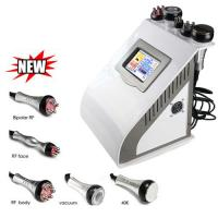Buy Portable ABS Multipolar RF Ultrasonic Cavitation Body Slimming Instrument at wholesale prices
