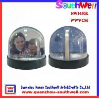 Quality Acrylic Photo Snow Globes for sale