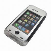 Quality Earphone and Volume Button Workable Waterproof Case for iPhone 4/4S, 8m Depth, Waterproof for sale