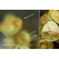 Buy 3mm to 8mm Mistlite Patterned Glass, Rolled Glass, Figured Glass with Certificat at wholesale prices