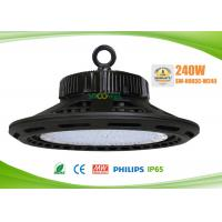 Quality Cheap 240w UFO LED High Bay Lights, 3000k to 6500k, 80Ra, 1-10V dimmable for sale