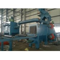 Quality Rust Removing Automatic Shot Blasting Machine With Roller Conveyor ISO9001 for sale