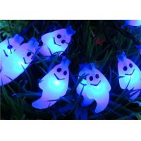 Quality Cute Ghost Outdoor Solar String Lights Waterproof Decorative For Halloween for sale