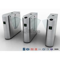 Quality Auto Retractable Entrance Waist High Turnstile With Face Recognition / Card Reader for sale