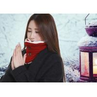 Quality DC5V Battery Operated Heated Scarf With Power Bank Button Design Removable for sale