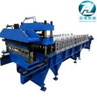 Buy cheap Roof Panel Glazed Tile Roll Forming Machine / Former Machine with 5.5kw motor from wholesalers