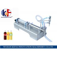 Quality high speed 110 V/ 220 V juice bottles  liquid filling machine  from China for sale