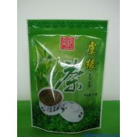 Quality Re-Sealable Zipper Plastic Bags , Reusable Printed Plastic Zip Lock Bags for Tea Packing for sale