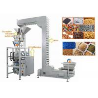 Quality Volumetric Cup Vertical Form Fill Seal Machine For Lentils / Sugar for sale