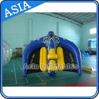 China 0.9mm PVC Tarpaulin Inflatable Flying Manta Ray / Fly Fish Inflatable Water Parks on sale